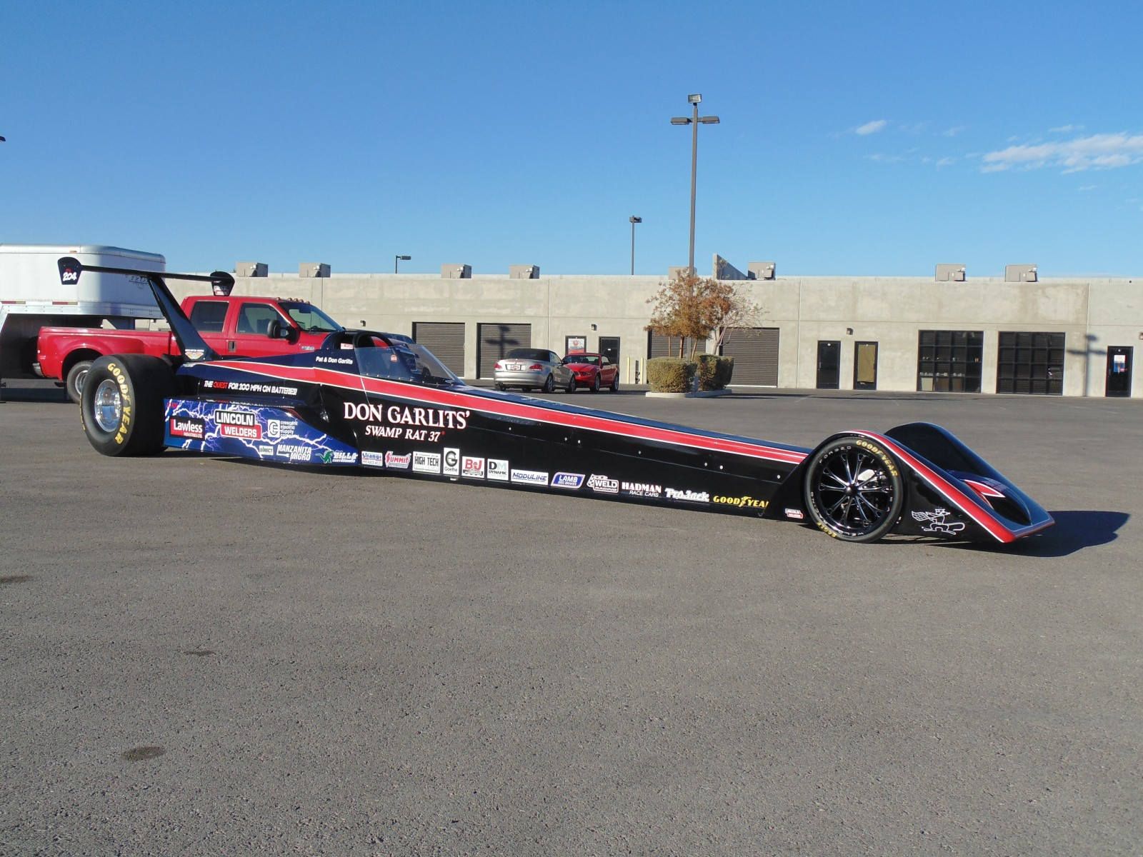 Daddy Don Garlits Goes Electric In Quest For 200 Mph P