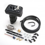 Here is the entire Edelbrock Universal Fuel Sump Kit. It includes the sump-style tank, high pressure fuel pump, fuel pressure regulator, plumbing, and mounting hardware. If you are installing this kit to an already existing fuel injection system you will also need Edelbrock's supplemental harness kit (part  #36054) which is sold separately but included in the Edelbrock E-Street EFI complete EFI upgrade kit (part #3606).