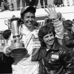 Richard and Lynda Petty celebrate The King's win at the 1974 Daytona 500. Image courtesy of SI.com.
