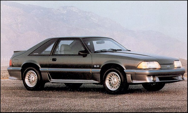 Top 10 Mustangs Of All Time 5 1987 Mustang 5 0l