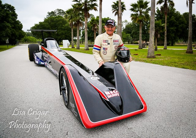 Daddy Don Garlits And The Sr 37 Quest For 200 Mph On Batteries Ev Dragster Will Take To Test Track At 10 Am April 30 In A Private Session