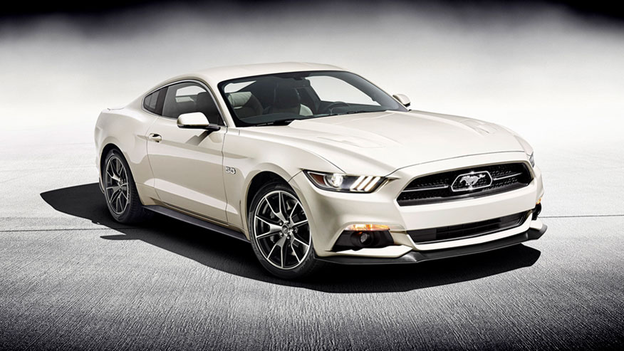 2014 1 2 mustang 50th anniversary edition