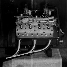 Flathead Ford Engine