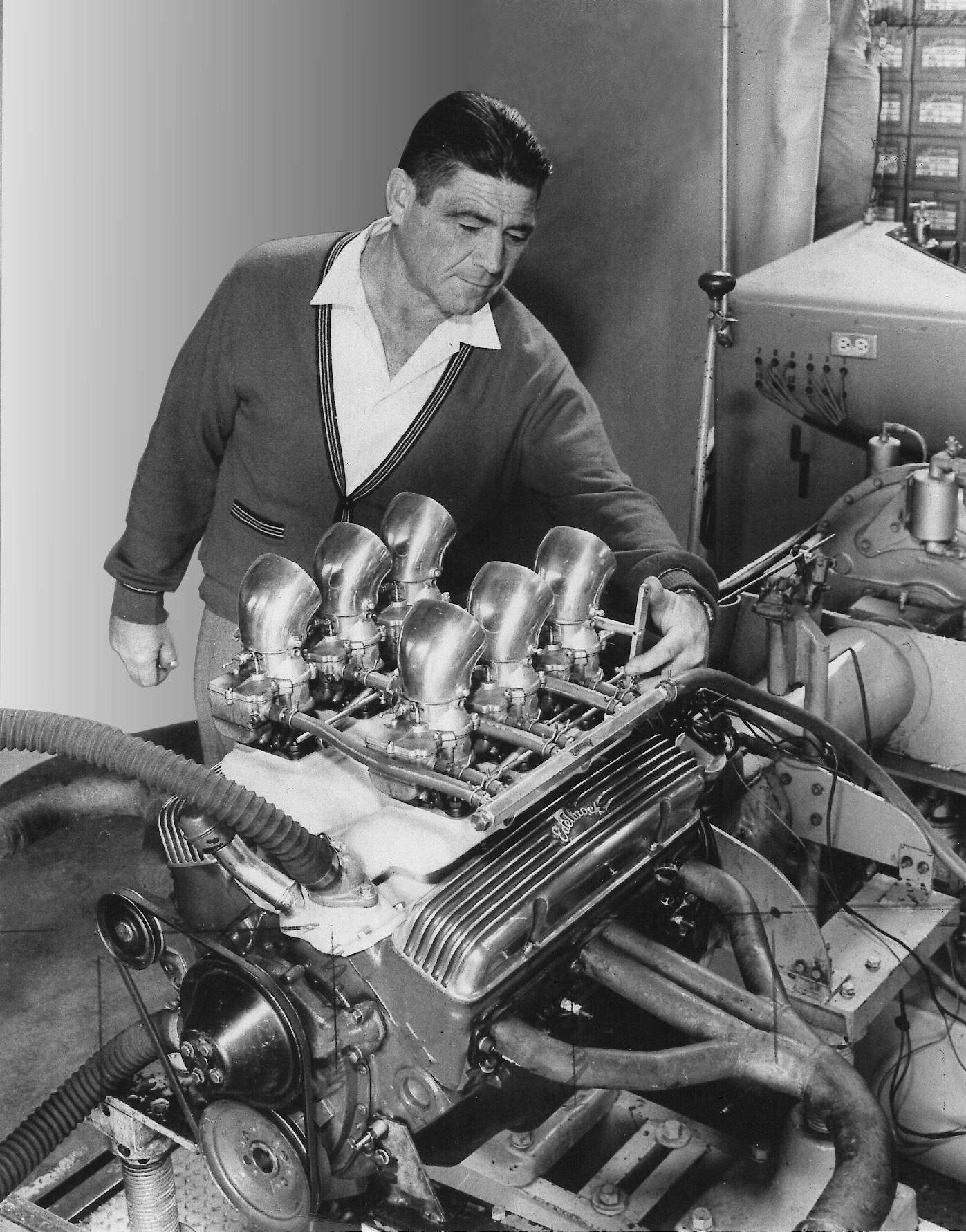 Vic Sr S B Chevy on Ford Flathead V8 Engine