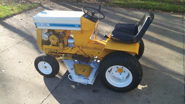 Lawn Mower Racing >> Yard Machine: Restoring a 1968 Cub Cadet with Help from ...