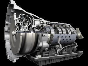 ZF 8HP 90 transmission.