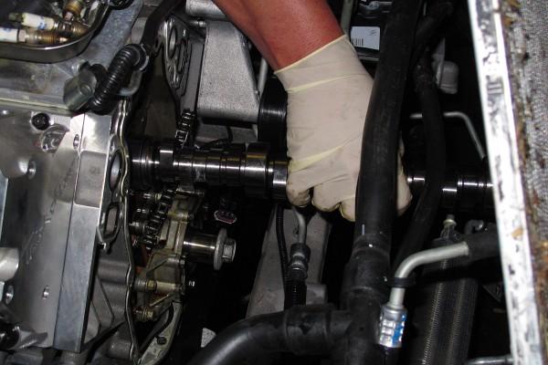 C6 Grand Sport Magnuson Install 12