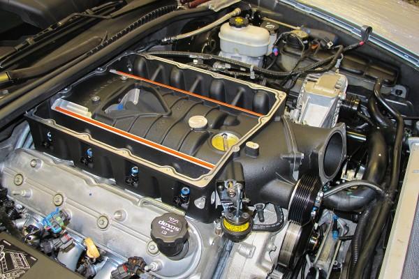 C6 Grand Sport Magnuson Install 22