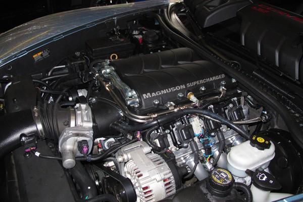 C6 Grand Sport Magnuson Install 30