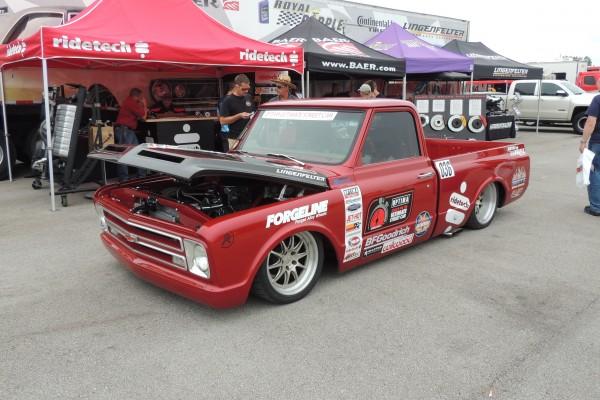 Chevy Vendor Truck