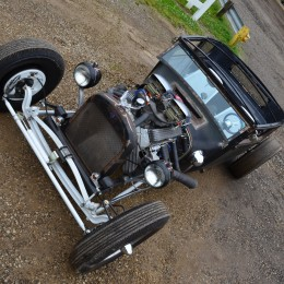 Model Tree: Paul Nervo Jr.'s 1927 Ford Rat Rod