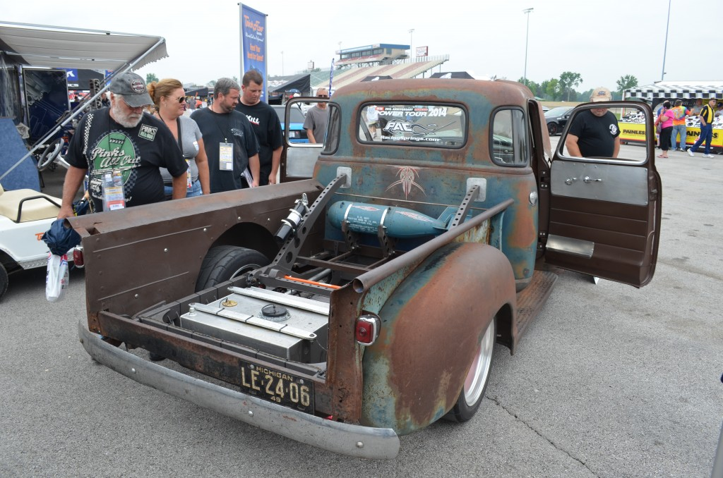 Project Condor 1949 Chevy 3100 5-window Pickup