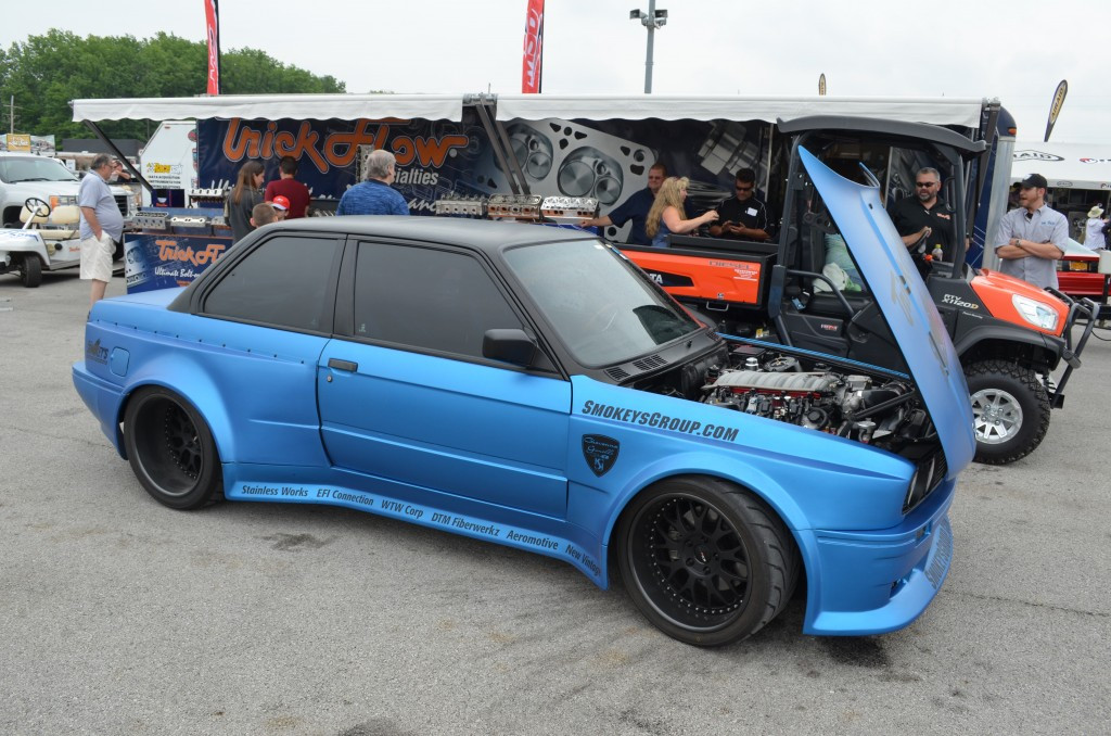 BMW E30 with LS