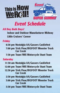 Super Summit 2014 Schedule