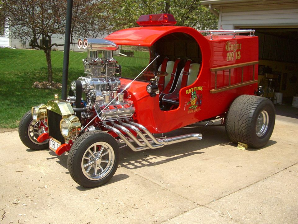 1923 Ford HEMI-powered