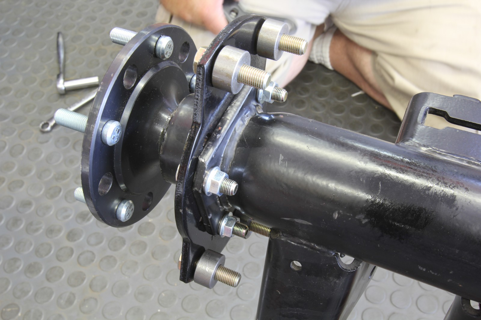 Braking News: Installing a Summit Racing Rear Disc Brake Conversion