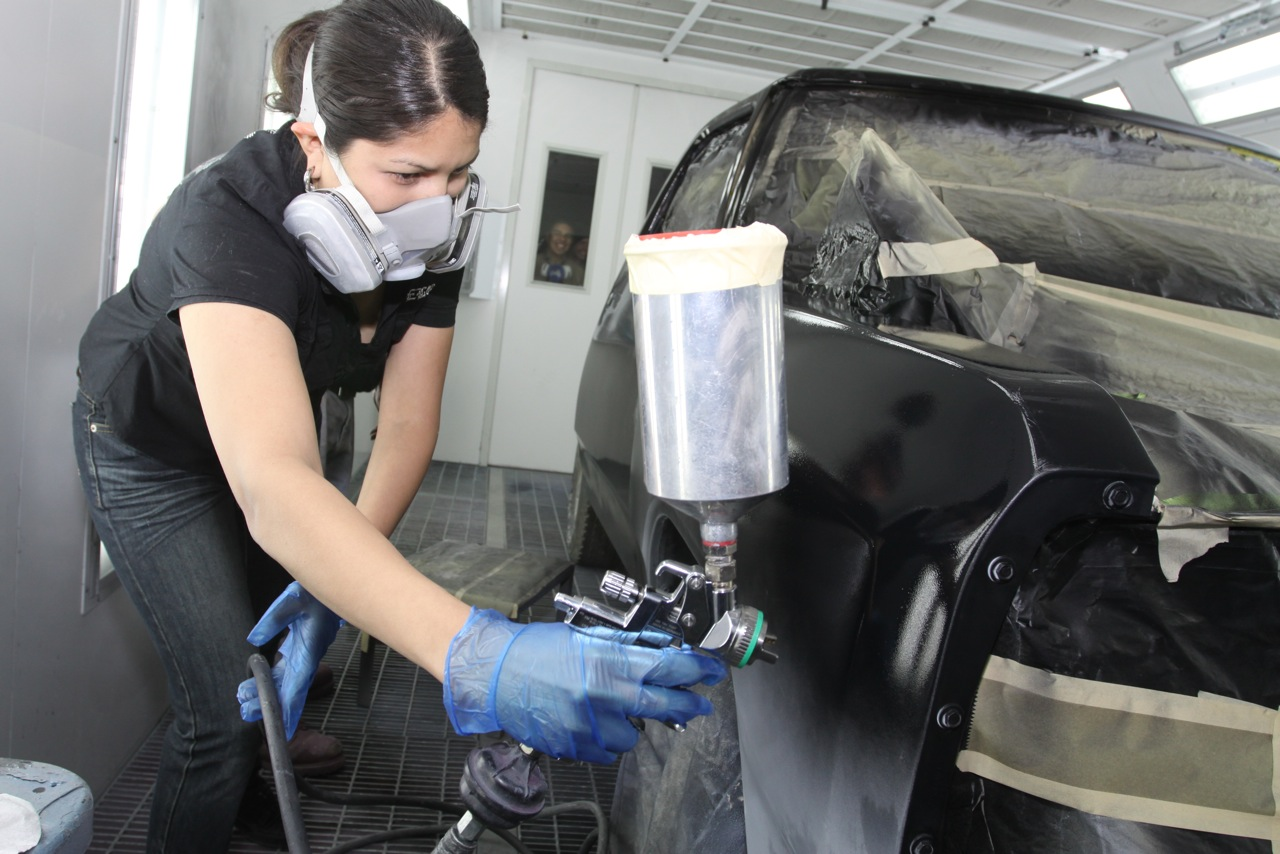 Garden City Dodge >> How to Spray Auto Air Colors Water-Based Paint ...