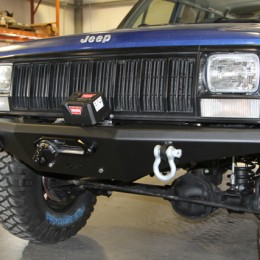 Upgrading your 1984-2001 Jeep Cherokee XJ with a winch and bumper can make a dramatic change to its capabilities and appearance.