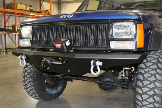Installing An Or Fab Hd Front Winch Bumper On A Jeep