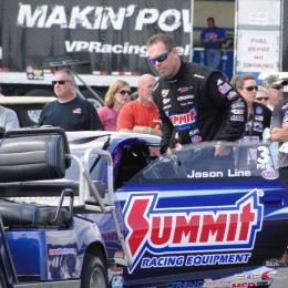 Line Takes Over Pro Stock Points Lead at Delayed Lucas Oil NHRA Nationals