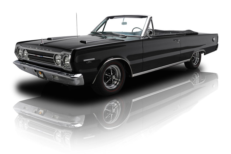 The girlfriend-getting 1967 Plymouth Belvedere GTX. Image courtesy of RK Motors.
