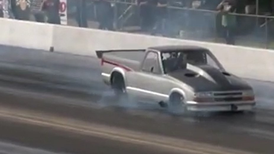 Larry Larson S S10 Blasts 6 16 Pass Becomes Fastest