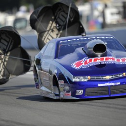 Pro Stock driver Jason Line enters the NHRA Countdown to the Championship on a dominate late-season run. Image courtesy of USA Today/Gannett