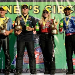 NHRA Wrap-Up: Courtney Force and Connolly Win Again; Brown, Savoie Win Too
