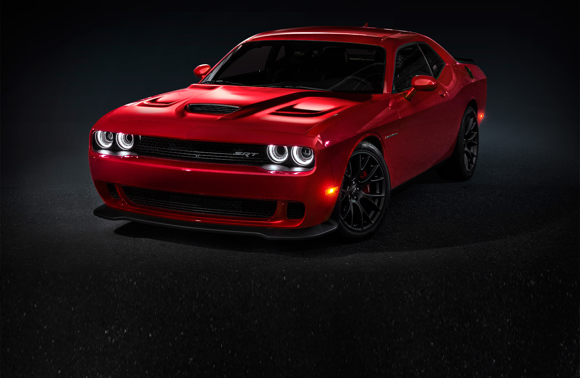 very first challenger srt hellcat goes for 825 000 at auction onallcylinders. Black Bedroom Furniture Sets. Home Design Ideas