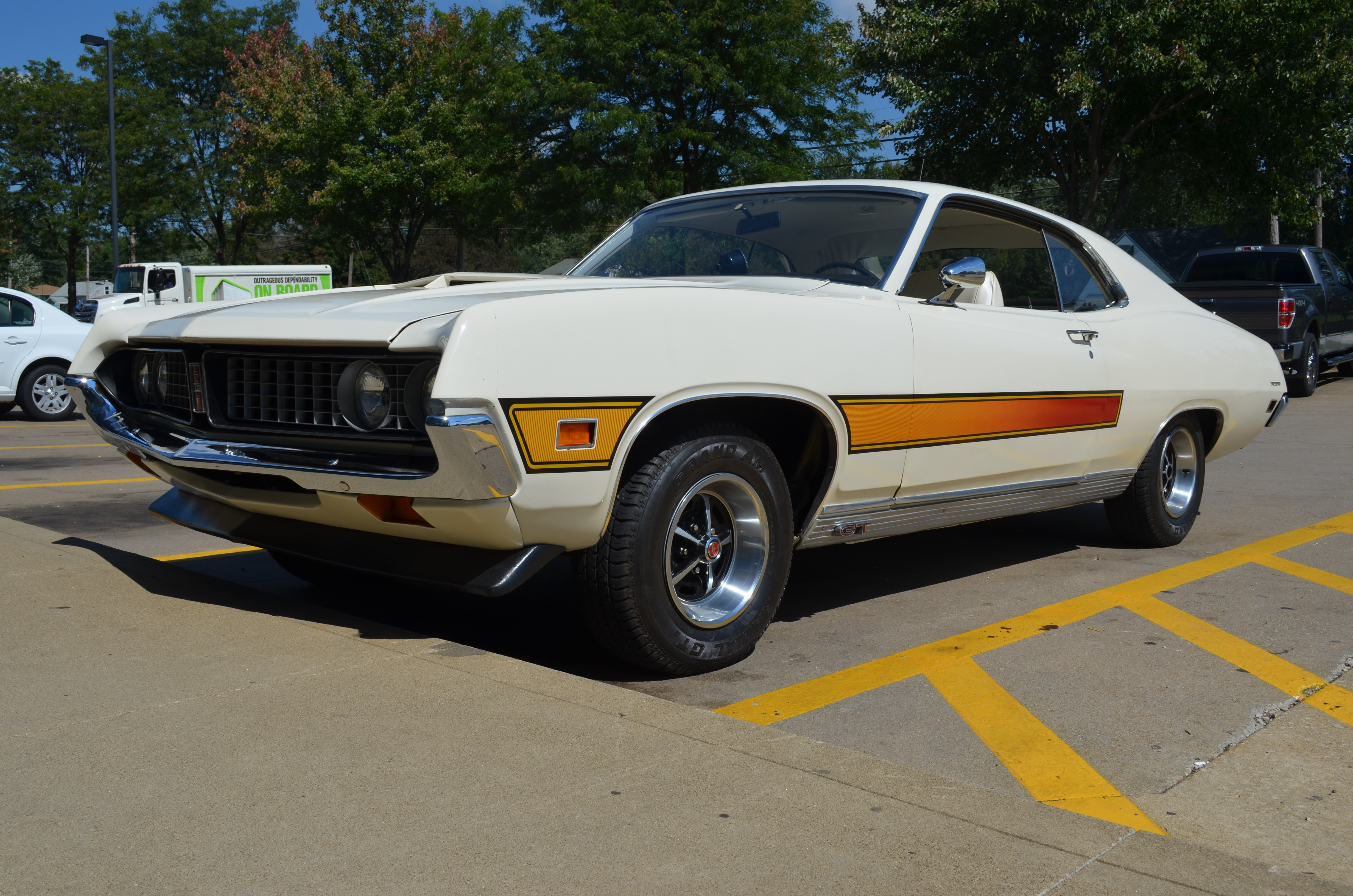 Ford Racing Parts >> Lot Shots Find of the Week: 1971 Ford Torino GT ...