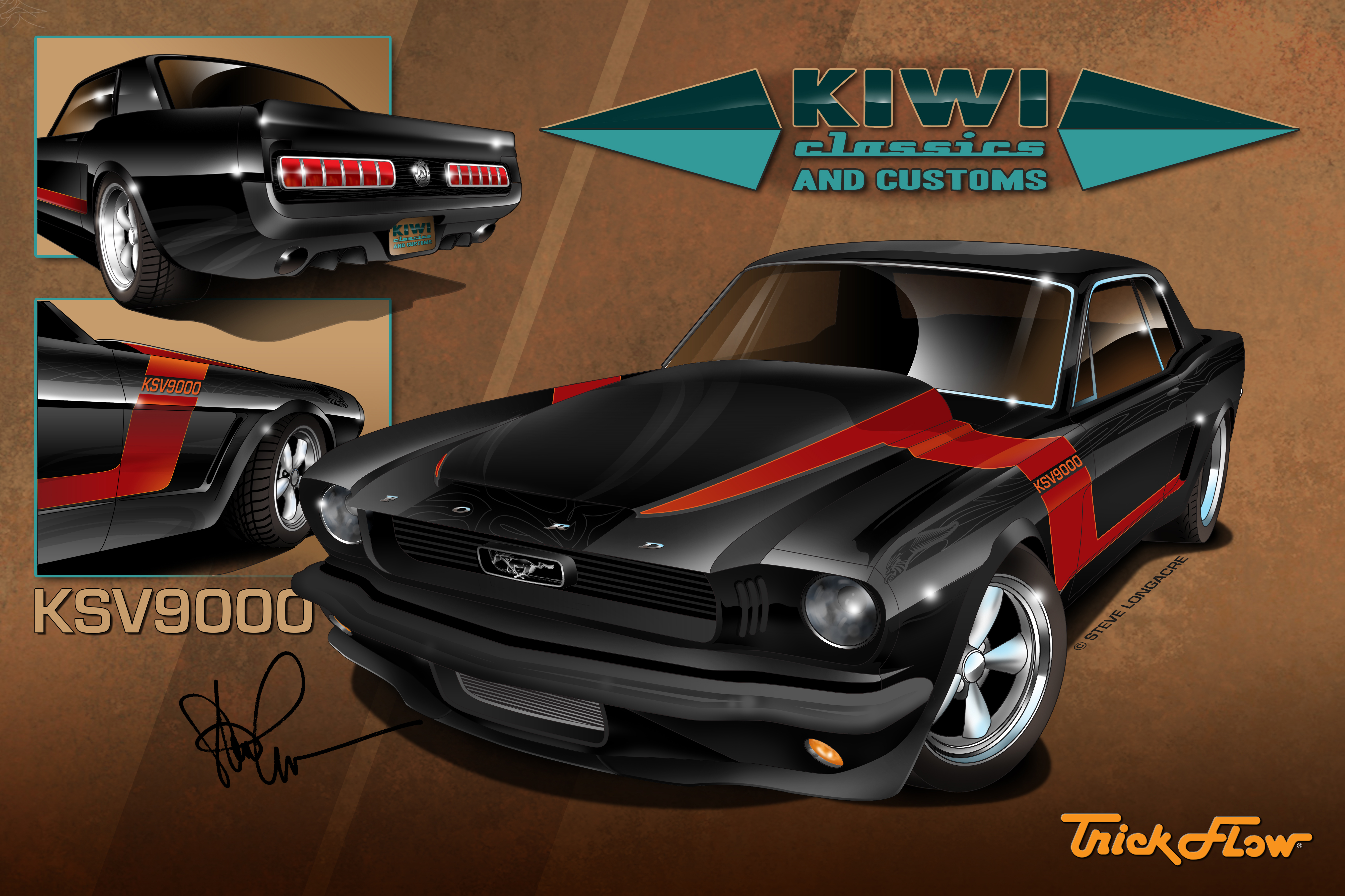 Trick flow specialties to display kiwi customs ksv9000 mustang at print malvernweather Image collections