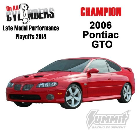 2006 Pontiac Gto Is Your Late Model Performance Playoffs