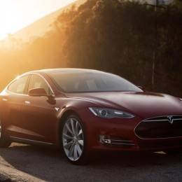 As Fast as a Porsche 911 Turbo. More Powerful than a Z06. Yep–It's the All-Electric Tesla Model D