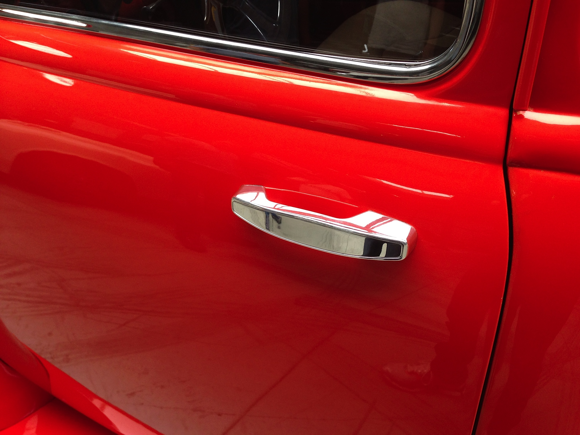 Lokar to introduce its new billet exterior 12 volt door for 12 volt door latch