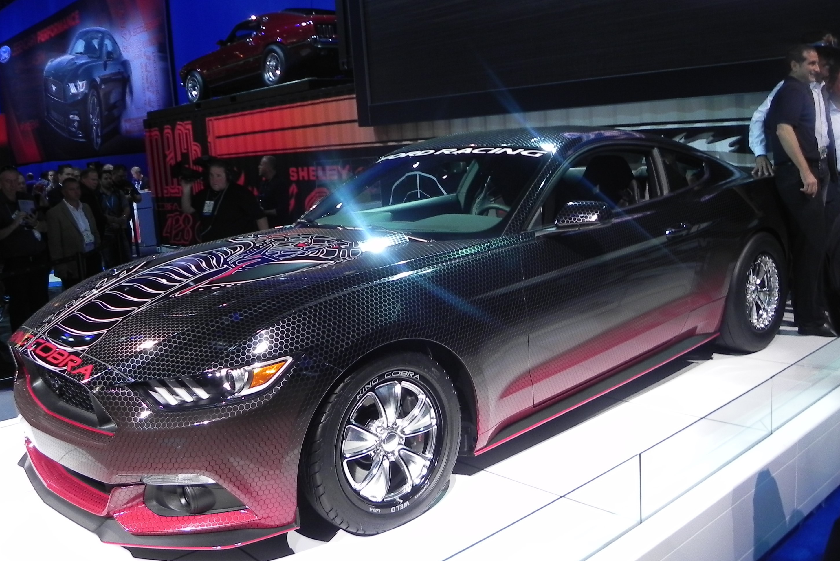 Ford Unleashes The New Mustang King Cobra At The Sema Show