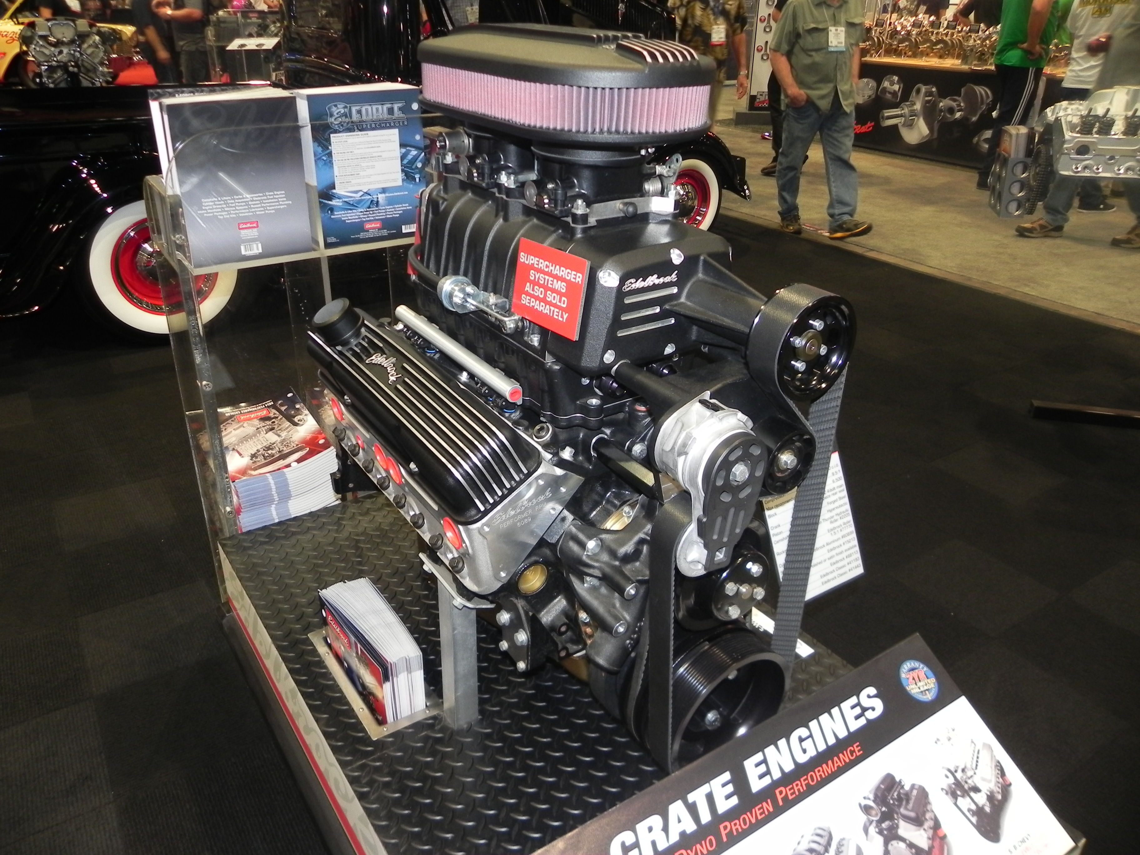 supercharged big block chevy crate engines