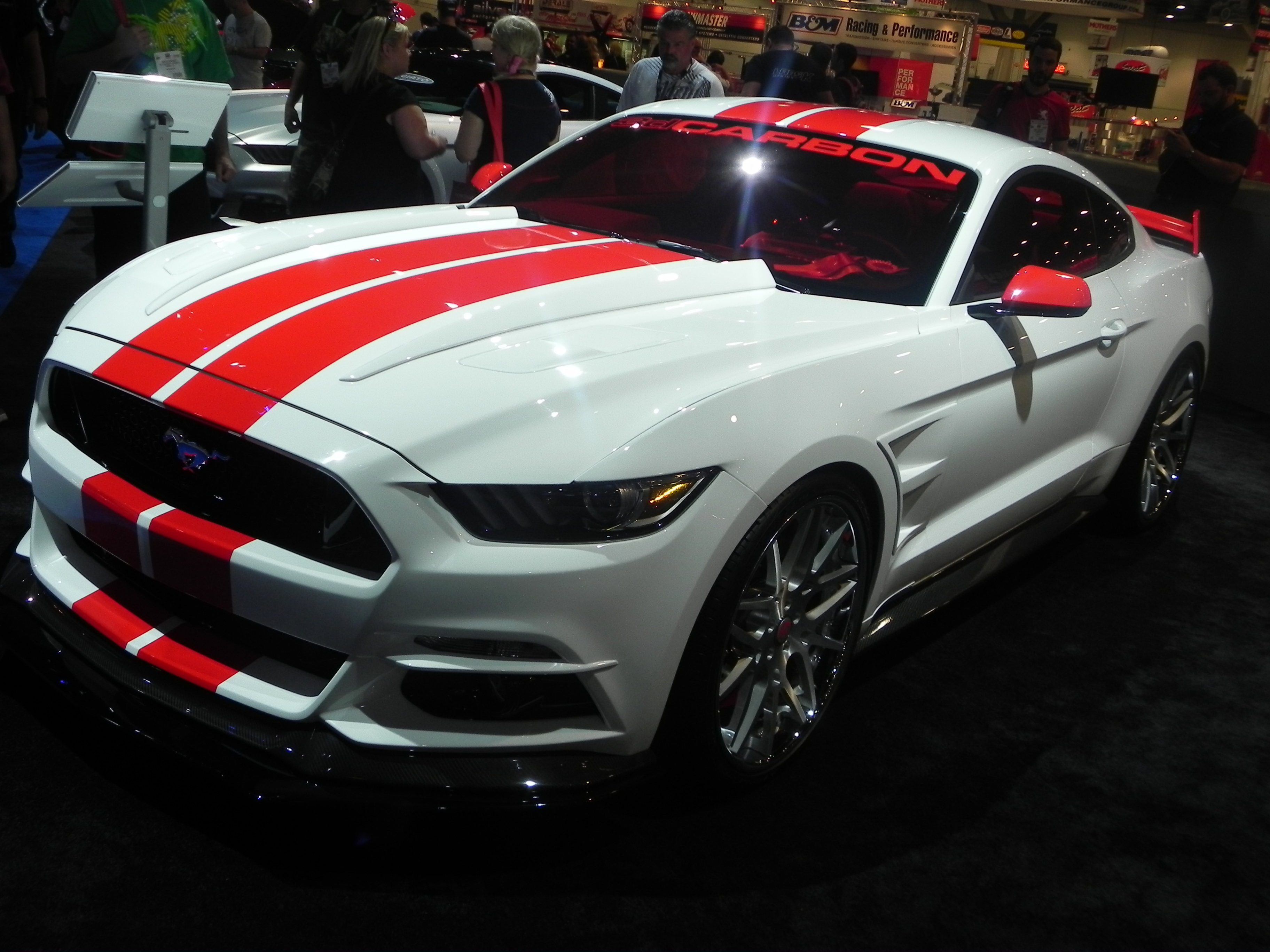 Pony Corral 9 Cool Mustang Concepts From Sema