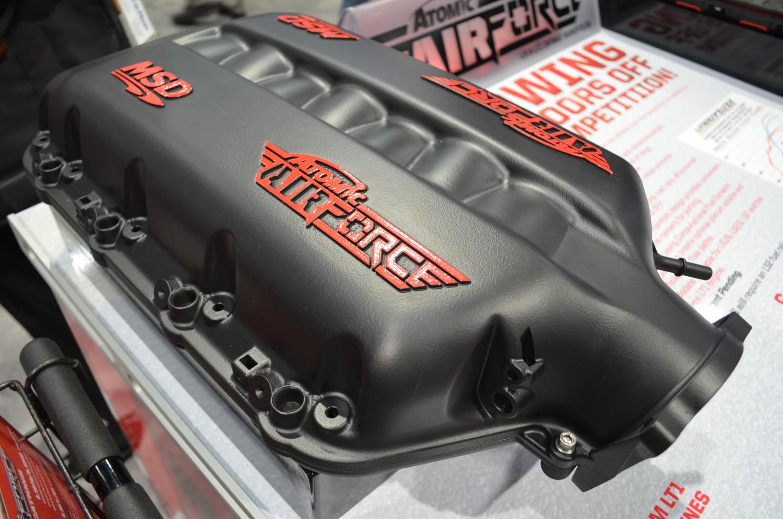 MSD Performance Unveils Atomic AirForce Intake Manifold