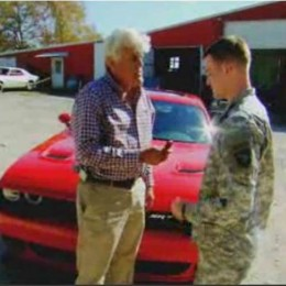 Video: Jay Leno Gives a Wounded Veteran a Challenger Hellcat
