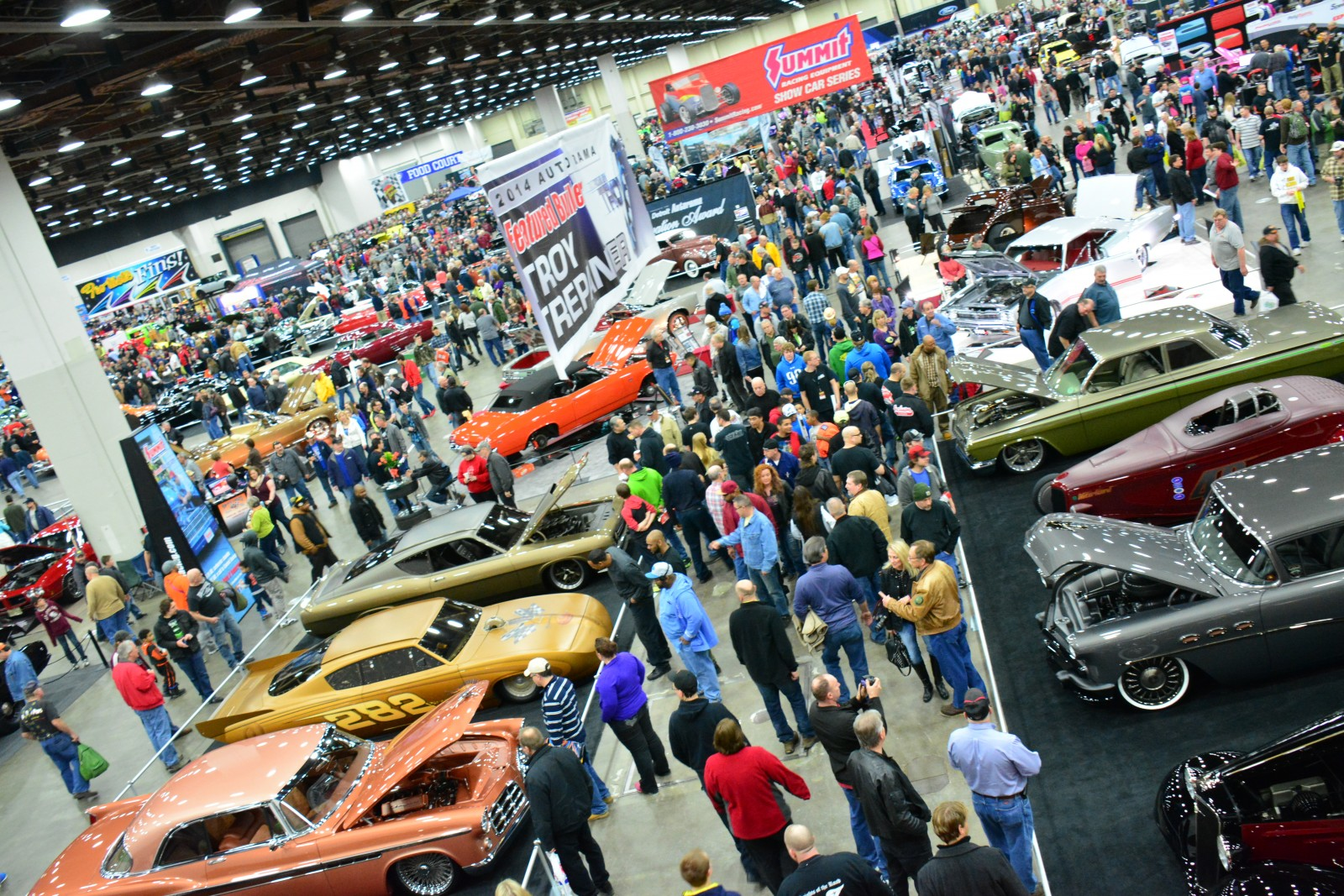 Hot Rodding Goes Indoors For The Summit Racing Show Car SeriesFind - Omaha car show