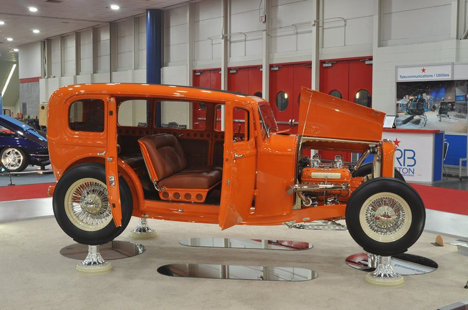 1932 Ford Sedan 2014 Millwinders Award