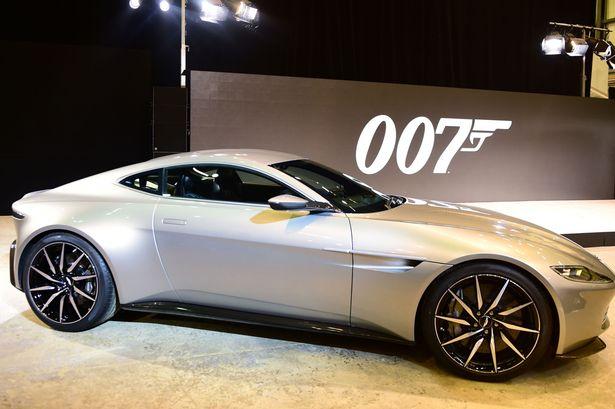 James Bonds New Aston Martin DB In SPECTRE Unveiled - James bond aston martin db10