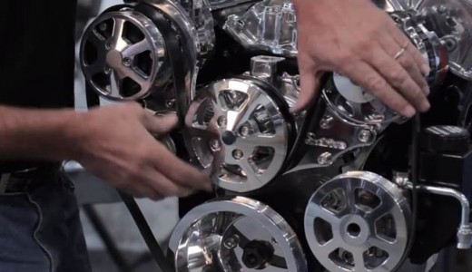 Video 101: Installing a Serpentine Pulley System on a Small Block Chevy