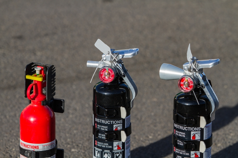 Automotive Fire Extinguisher >> Fire Safety 101 Choosing The Right Fire Extinguisher For