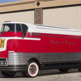 1950 GM Futurliner Parade of Progress Tour Bus. Sold for $4 million.