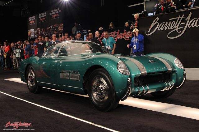 10 most expensive cars sold at barrett jackson 39 s record setting scottsdale auction onallcylinders. Black Bedroom Furniture Sets. Home Design Ideas