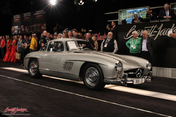 1955 Mercedes-Benz 300SL Gullwing Coupe - Pratte