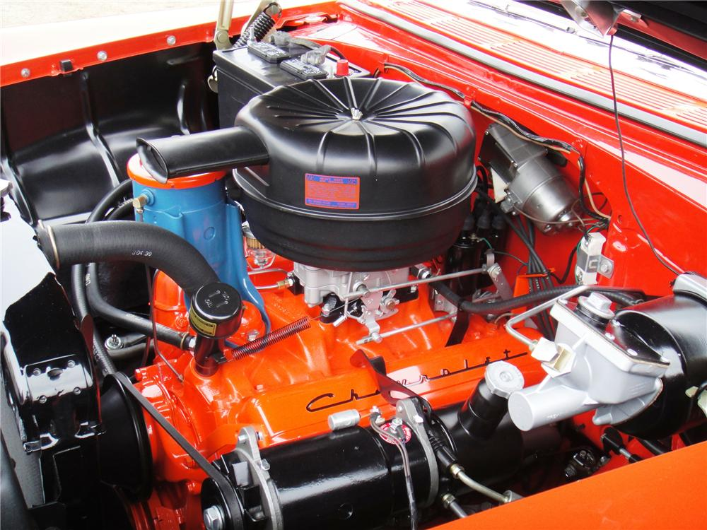 the small block at 60 history, facts \u0026 more about the engine that 283 Chevy Engine Parts List chevy 265 (image courtesy of mecum)