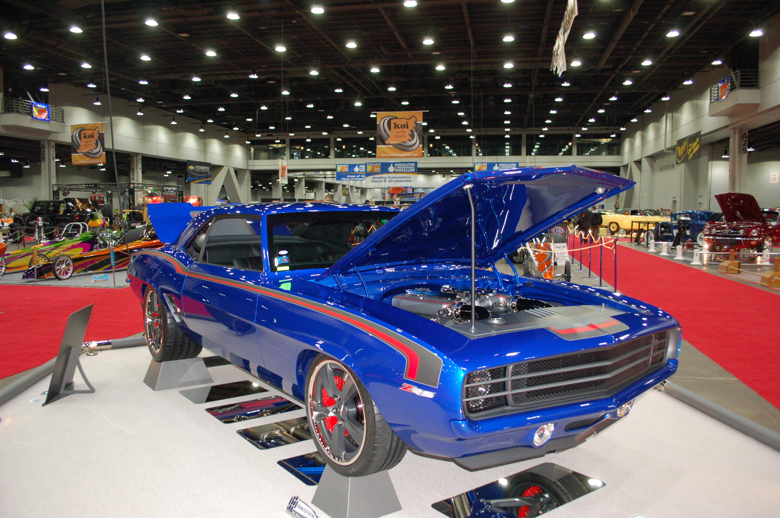 Photo Gallery Cincinnati Cavalcade Of Customs OnAllCylinders - Car show in cincinnati this weekend