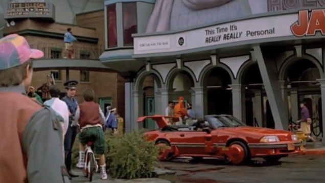 Where Are Flying Cars? Back to the Future Sequel Predicted ...